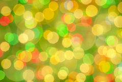 Festive bokeh background-03. Christmas and New Year festive bokeh background, place for holiday text Royalty Free Stock Photo