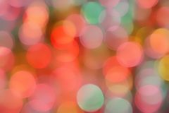 Festive bokeh background. Pastel colored birthday themed bokeh background royalty free stock image