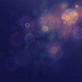 Festive bokeh background. Purple Festive Christmas  elegant  abstract background with  bokeh lights and stars Stock Image