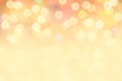 Festive bokeh background. Christmas and New Year festive bokeh background, place for holiday text Stock Photos