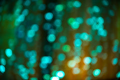 Festive bokeh background. Abstract background with blurred lights. Royalty Free Stock Photography