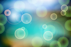 Festive bokeh lights abstract background. Vector illustration Royalty Free Stock Photo