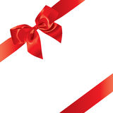 Festive Bow (illustration). Festive Bow (vector or XXL jpeg image Stock Images