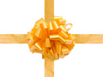Festive Bow and Ribbons Royalty Free Stock Photos