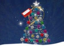 Festive Bow Tree Royalty Free Stock Photography