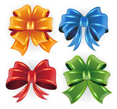 Festive bows Royalty Free Stock Photos