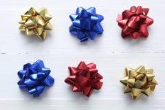 Festive bows Royalty Free Stock Image