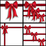 Festive bows Stock Photo