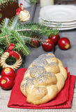 Festive bread Royalty Free Stock Images