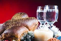 Festive bread still life Stock Image