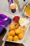 Festive breakfast Royalty Free Stock Image