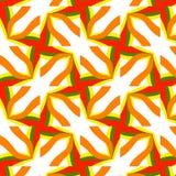 Festive bright orange and Sunny pattern. Vintage ornament. Royalty Free Stock Photos