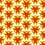 Festive bright orange and Sunny pattern. Vintage ornament. Royalty Free Stock Photo