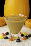 Festive Butterscotch Pudding Royalty Free Stock Images