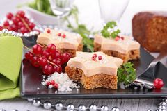 Festive canape Royalty Free Stock Photos