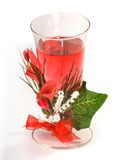 Festive candle Stock Photography