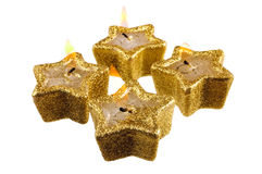 Festive candles Royalty Free Stock Photography