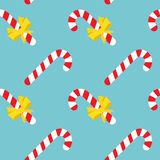 Festive candy cane pattern Royalty Free Stock Images