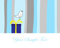 Festive card. Hand drawn infant card for design use Royalty Free Stock Photo