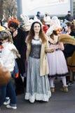 Festive carnival in Varna, Bulgaria. Royalty Free Stock Image