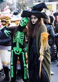 Festive carnival in Varna, Bulgaria. Royalty Free Stock Photos