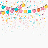 Festive celebration background. Stock Photos
