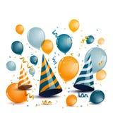 Festive Celebration Design. Illustration of a Festive Celebration Design Royalty Free Stock Photos