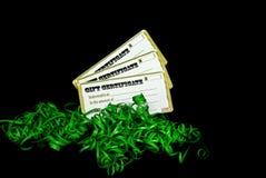 Festive Certificates Stock Image