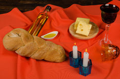 Festive challah Royalty Free Stock Photo