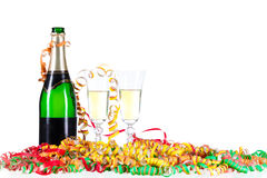 Festive Champagne Royalty Free Stock Images