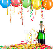 Festive Champagne Royalty Free Stock Photos