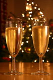 Festive champagne Royalty Free Stock Image