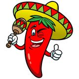 Festive Chili Pepper Royalty Free Stock Photos