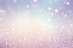Festive Christmas abstract bokeh background. Shining lights, holiday sparkling atmosphere, celebration ambient Royalty Free Stock Images