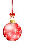 Festive christmas background with ball Royalty Free Stock Photography