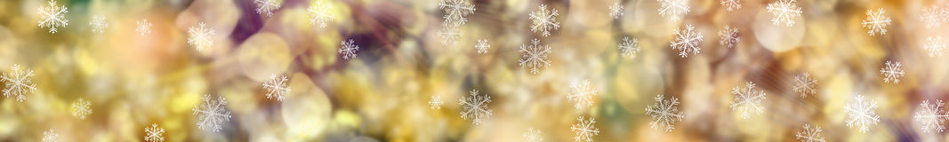 Festive Christmas background. banner. Royalty Free Stock Photography