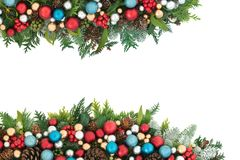 Free Festive Christmas Background Border Royalty Free Stock Photos - 157499458