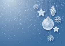 Festive Christmas Background Stock Image