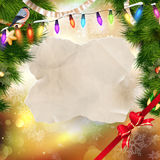 Festive Christmas background.  Royalty Free Stock Photos