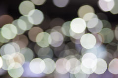 Festive Christmas background. Elegant abstract background with bokeh defocused Royalty Free Stock Photo