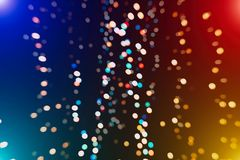 Festive Christmas background. Elegant abstract background with bokeh defocused lights and stars. Christmas Background.Holiday Abstract Glitter Royalty Free Stock Photos