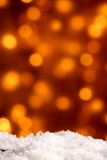 Festive Christmas background with party bokeh Royalty Free Stock Photography