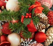 Festive Christmas background Royalty Free Stock Images