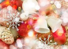 Festive Christmas background Royalty Free Stock Photos