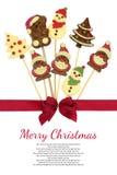 Festive Christmas chocolate Royalty Free Stock Photos