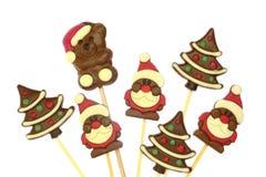 Festive Christmas chocolate Royalty Free Stock Image