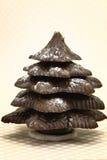 Festive Christmas chocolate tree Royalty Free Stock Photo