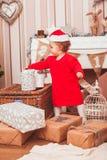 Festive Christmas decoration Stock Image