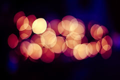 Festive Christmas elegant abstract background with bokeh lights Stock Photo