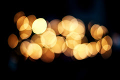 Festive Christmas elegant abstract background with bokeh lights Royalty Free Stock Images